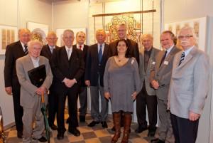 Koblenz Gruppenfoto Ausstellung Alois Stettner