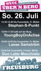 26.07.2015 Freusburg, Sommer-Kunst-Event