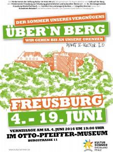 Sommer-Kunst-Event - Über'n Berg 2016 - in Kirchen-Freusburg 4.-19. Juni 2016